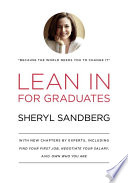 Lean In for Graduates Book