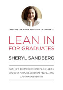 Lean In for Graduates Book