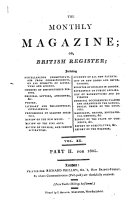 The monthly magazine and British register