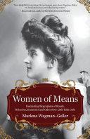 Pdf Women of Means