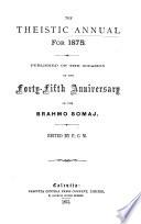 The Theistis Annual    Book PDF