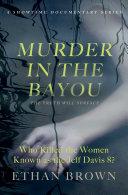 Murder in the Bayou Pdf/ePub eBook