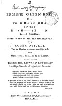 An English Green Box