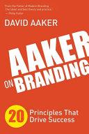 Cover of Aaker on Branding