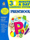30 Minutes a Day Learning System  Preschool