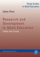 Research and Development in Adult Education: Fields and Trends