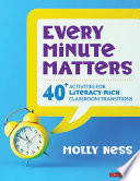 Every Minute Matters  Grades K 5  Book
