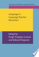 Language In Language Teacher Education Book PDF