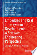 Embedded and Real Time System Development  A Software Engineering Perspective Book