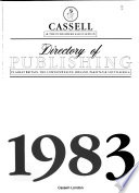 Cassell & the Publishers Association Directory of Publishing in Great Britain, the Commonwealth, Ireland, Pakistan & South Africa