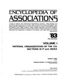 Encyclopedia of Associations  pt  1 2  National Organizations of the U S