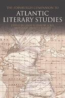 Pdf Edinburgh Companion to Atlantic Literary Studies Telecharger