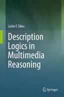 Pdf Description Logics in Multimedia Reasoning Telecharger