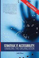 Strategic IT Accessibility