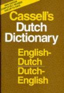 Cassell s English Dutch  Dutch English Dictionary