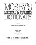 Mosby s Medical   Nursing Dictionary