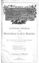 Popular Gardening and Fruit Growing Book