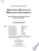 Principles & Practice of Mechanical Engineering