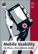 Mobile Usability  : Für iPhone, iPad, Android, Kindle