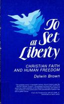 To Set at Liberty