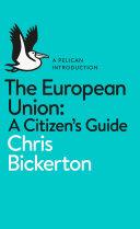 The European Union: A Citizen's Guide Pdf/ePub eBook