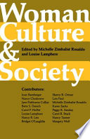 Woman, Culture, and Society by Michelle Zimbalist Rosaldo,Louise Lamphere,Joan Bamberger PDF