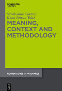 Meaning  Context and Methodology