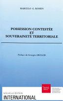 Possession contestée et souveraineté territoriale