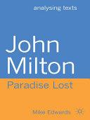 Pdf John Milton: Paradise Lost Telecharger
