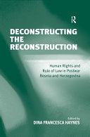 Deconstructing the Reconstruction Pdf/ePub eBook