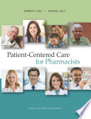 Patient Centered Care for Pharmacists