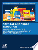 Salt  Fat and Sugar Reduction