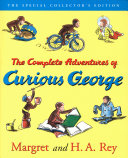 Curious George Complete Adventures Deluxe Book and CD Gift Set banner backdrop