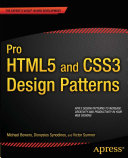 Pro HTML5 and CSS3 Design Patterns [Pdf/ePub] eBook