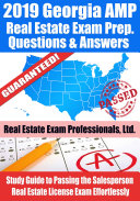 2019 Georgia AMP Real Estate Exam Prep Questions  Answers   Explanations