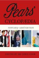 Pears' Cyclopaedia 2015-2016