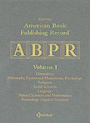 American Book Publishing Record Cumulative 2000
