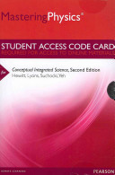 MasteringPhysics and Reg     Standalone Access Card    for Conceptual Integrated Science