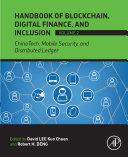 Pdf Handbook of Blockchain, Digital Finance, and Inclusion, Volume 2 Telecharger