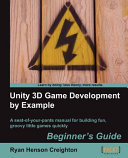 Pdf Unity 3D Game Development by Example Telecharger