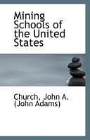 Mining Schools of the United States Book PDF