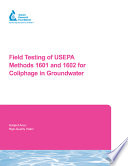 Read Online Field Testing of USEPA Methods 1601 and 1602 for Coliphage in Groundwater For Free