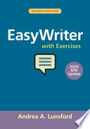 EasyWriter with Exercises, 2020 APA Update