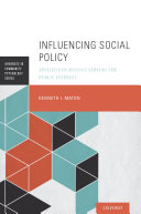 Influencing Social Policy Pdf/ePub eBook