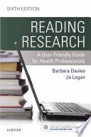 Reading Research E Book