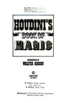 Houdini's Book of Magic