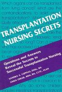 Transplantation Nursing Secrets Book