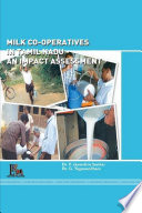 MILK CO-OPERATIVES IN TAMIL NADU - AN IMPACT ASSESSMENT
