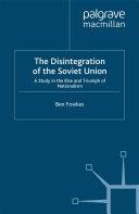 Pdf The Disintegration of the Soviet Union Telecharger
