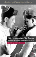 Male Homosexuality in West Germany